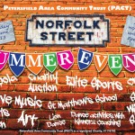 Poster for PACT/Norfolk Street Summer Event 2013 by  Lily Bracey
