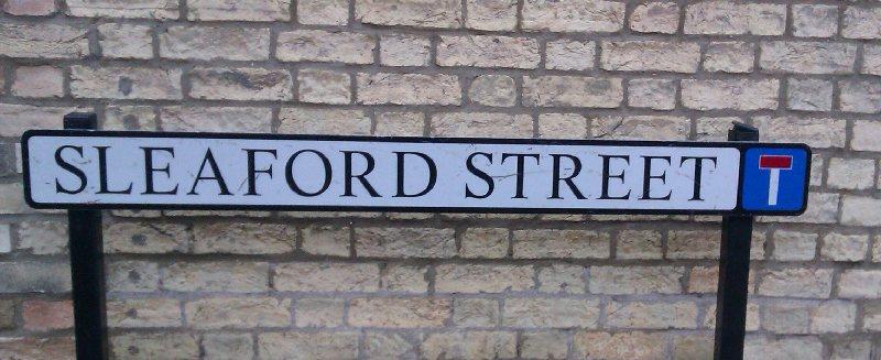 Sleaford Street sign - Simone