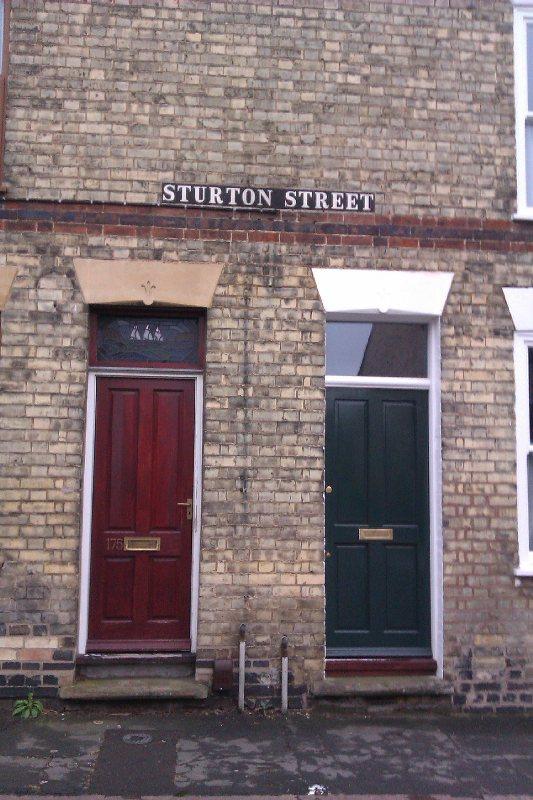 Sturton Street doors - Simone