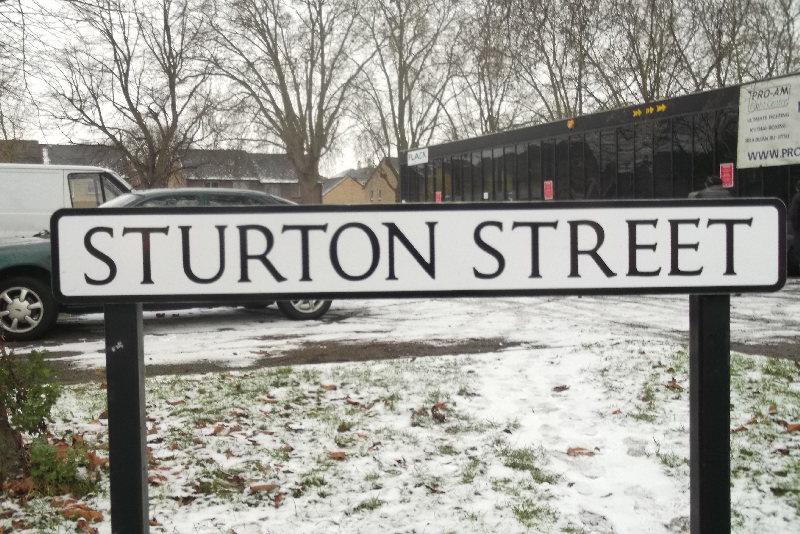 Sturton Street sign - Seb